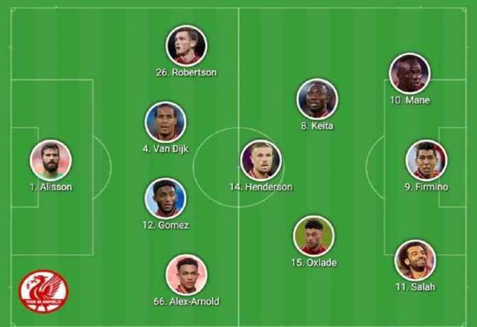 Liverpool vs Flamengo: Kedua Tim Turunkan Lineup Ini