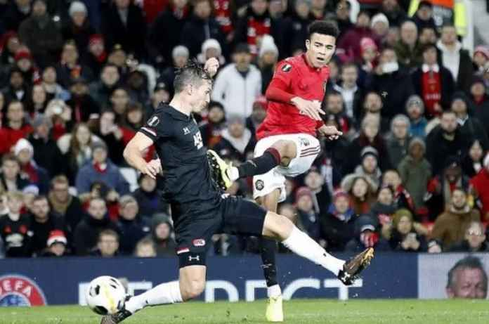 Mason Greenwood Cetak Rekor di Manchester United vs AZ Alkmaar