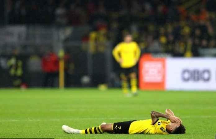Jadon Sancho Cedera Saat Dortmund Imbang Kontra Leipzig