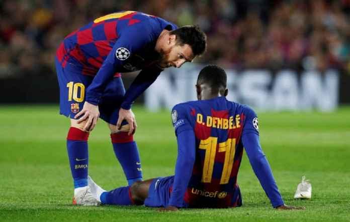 Barcelona Kirim Ousmane Dembele ke Qatar
