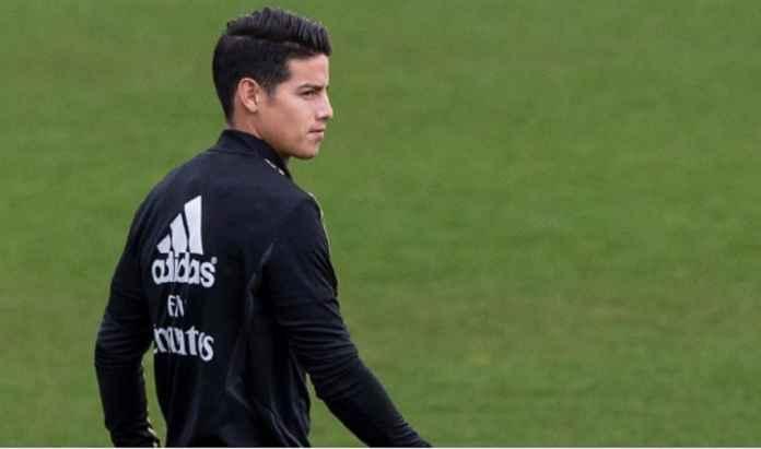 Real Madrid Sambut James Rodriguez di Laga Pembuka Tahun Depan