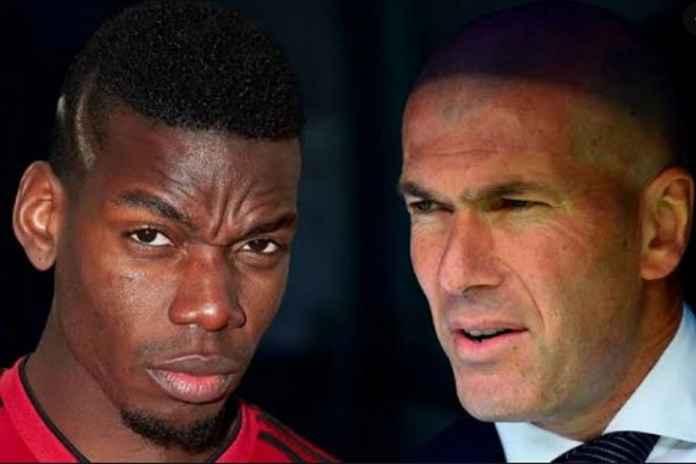 Zinedine Zidane Ngotot Datangkan Pogba ke Real Madrid