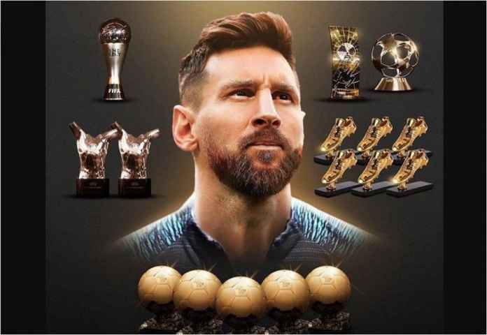Lionel Messi Rebut Ballon d'Or Keenam Kalinya!