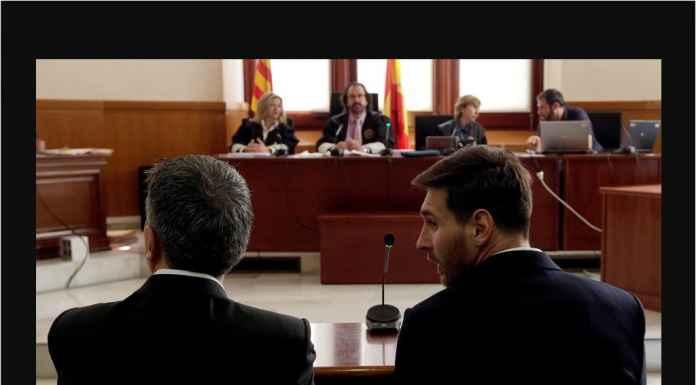 Status Terpidana Messi Bahayakan Nasib Barcelona di 16 Besar