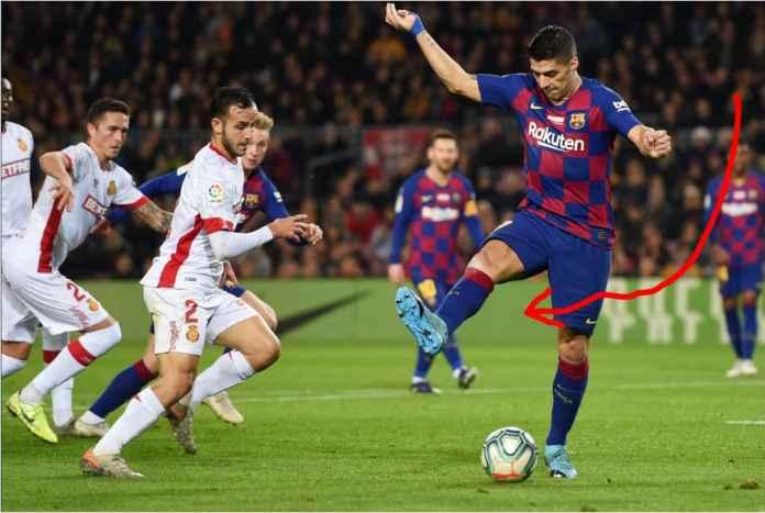 Gol Tumit Luis Suarez Jadi Perbincangan, Bukan Hat-trick Messi