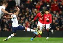 Manchester United 2-1 Tottenham, Kekalahan Pertama Mourinho