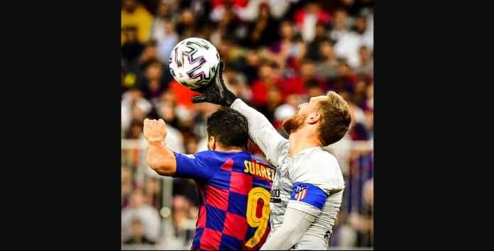 Hasil Piala Super Spanyol: Barcelona Kalah! Derby Madrid di Final!