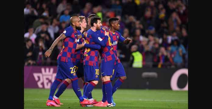 Hasil Copa del Rey Barcelona, Dua Gol Indah, Satu Gol Jelek Messi