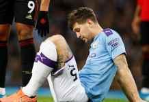 Bek Manchester City John Stones yang diincar Arsenal