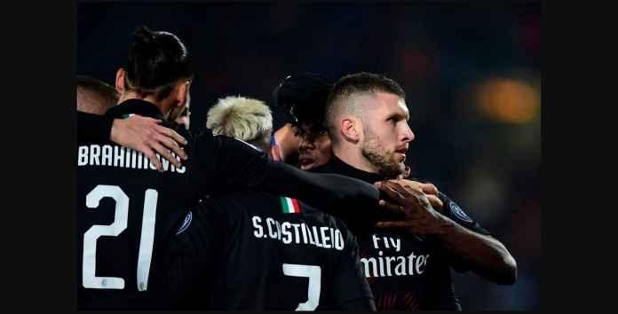 Milan Menang 1-0, Tapi Ante Rebic Pahlawan Bukan Zlatan