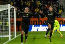 Pemain Borussia Dortmund 19 Tahun Cetak Tiga Gol, Man Utd Menangis