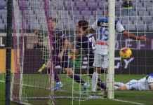 Atalanta Gagal Menang Atas Fiorentina, Meski Unggul Jumlah Pemain