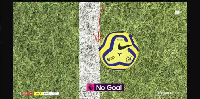 Kemenangan Tottenham Hanya Dipisahkan Jarak 10 Milimeter Saja