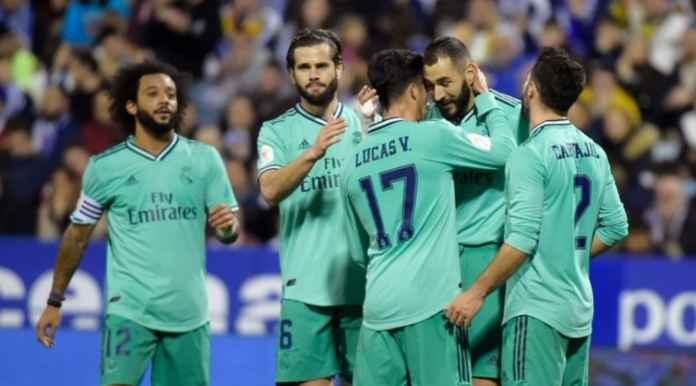 Hasil Copa Del Rey - Real Zaragoza vs Real Madrid