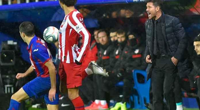 Hasil Eibar vs Atletico Madrid di Liga Spanyol - Diego Simeone