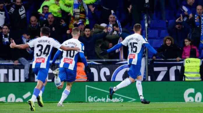 Hasil Espanyol vs Barcelona di Liga Spanyol - David Lopez