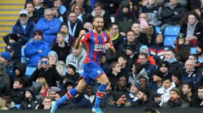 Hasil Manchester City vs Crystal Palace - Cenk Tosun