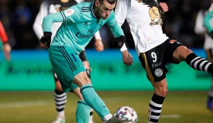 Hasil Unionistas vs Real Madrid di Copa Del Rey - Gareth Bale