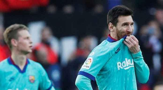 Hasil Valencia vs Barcelona di Liga Spanyol - Barcelona Kalah
