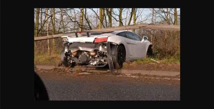 Kiper Manchester United Hancurkan Lamborghini 3 Milyar, Tapi Selamat
