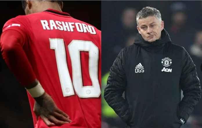 Manchester United Ingin Pinjam Striker Gantikan Marcus Rashford