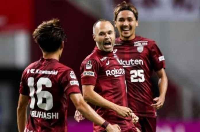 Andres Iniesta Bawa Vissel Kobe Berjaya di Liga Jepang