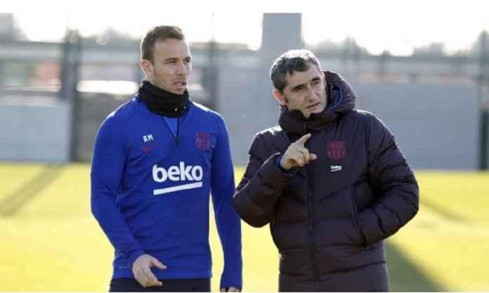 Ernesto Valverde Tinggalkan PR Ini di Barcelona