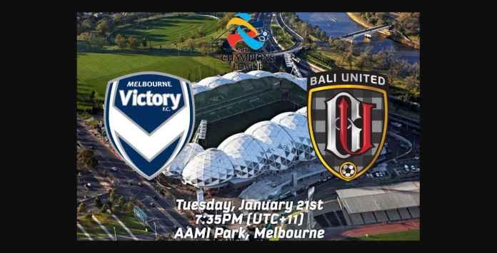 Bali United Tertinggal 2-0 Melbourne Victory, Kalah Cepat, Kalah Taktik
