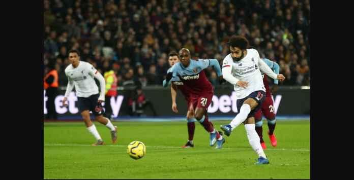 Liverpool Menang Atas West Ham Berkat Gol ke-12 Mo Salah Musim Ini