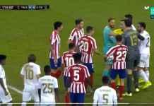 Lihat Perkelahian Massal Pemain Real Madrid vs Atletico Menit 114