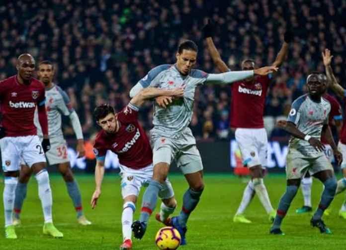 Prediksi West Ham vs Liverpool, Liga Inggris 30 Januari 2020