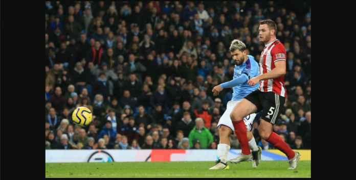Sergio Aguero Selamatkan Manchester City, Kini Koleksi 16 Gol