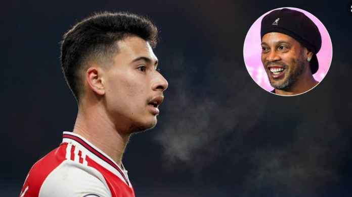 Ronaldinho Puji Penyerang Muda Arsenal Mirip Ronaldo
