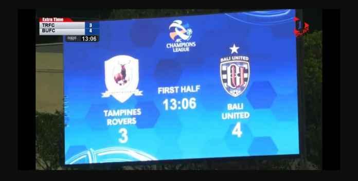 Bali United Lolos! Unggul 0-2 Tertinggal 3-2 Menang 3-5 Atas Tampines!