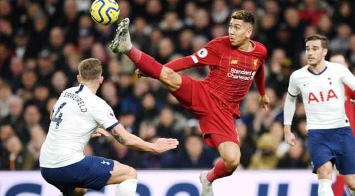 Tottenham Hotspir vs Liverpool - Roberto Firmino