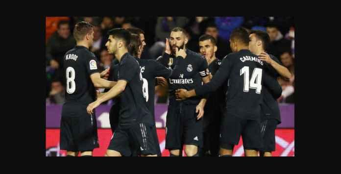 Real Madrid Bangkit Kembali Saat Menang Tandang di Valladolid