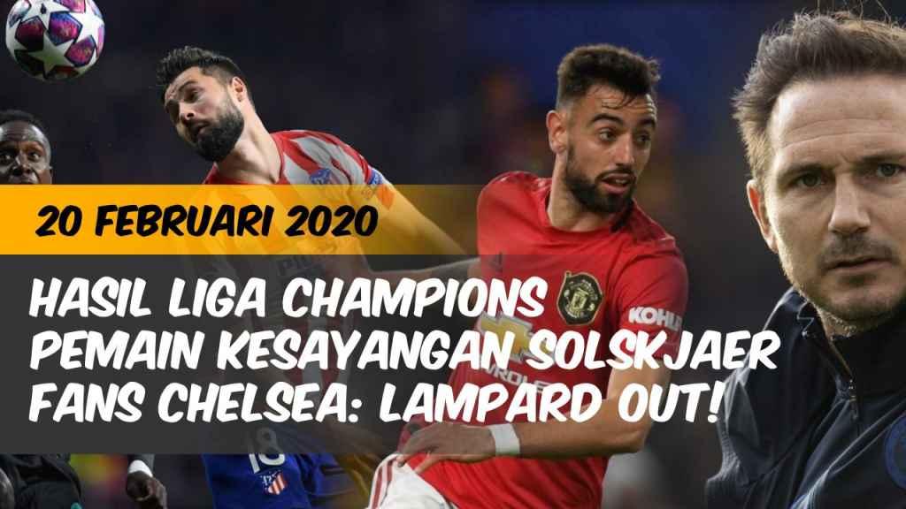 Berita  Hasil Liga Champions Liga Inggris