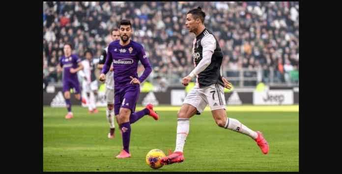 Cristiano Ronaldo mencetak gol ke-18 di Liga Italia, sembilan berturut-turut