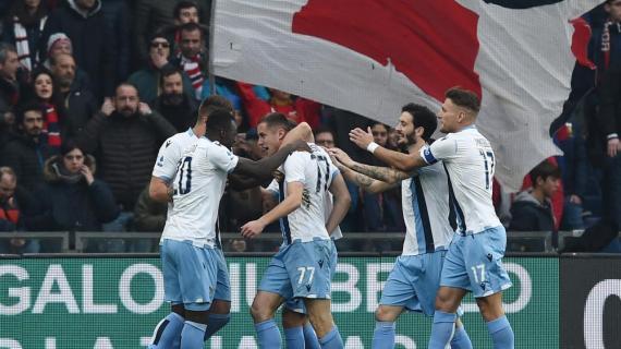 Hasil Genoa vs Lazio Skor 2-3, Si Elang Harus Menang Susah Payah