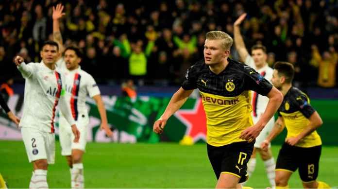 Borussia Dortmund 2-1 PSG, 3 Gol Dalam 8 Menit, Erling Haaland 2 Gol!