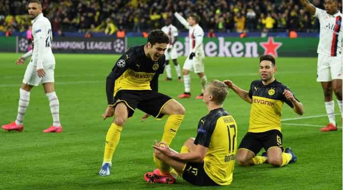 Erling Haaland Cetak Banyak Rekor Pada Laga Dortmund vs PSG