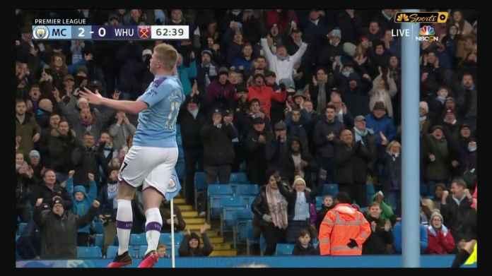 Manchester City Dominasi 79% Tapi Hanya Menang 2-0 Atas West Ham