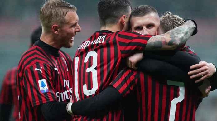 Milan Menang 1-0, Ante Rebic Sekali lagi Jadi Pahlawan Rossoneri