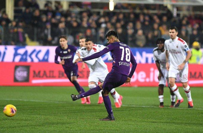 Hasil Fiorentina vs AC Milan di Liga Italia