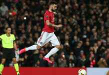 Hasil Liga Europa - Manchester United vs Club Brugge - Bruno Fernandes