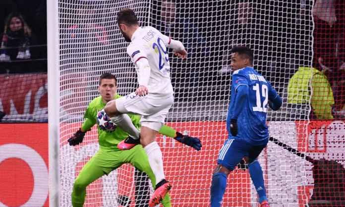 Hasil Olympique Lyon vs Juventus di leg pertama babak 16 besar Liga Champions