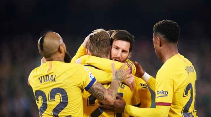 Hasil Real Betis vs Barcelona di Liga Spanyol - Lionel Messi
