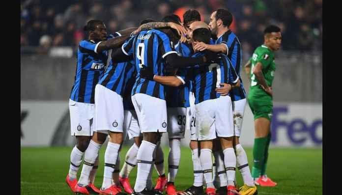 Gol Lucu Romelu Lukaku Bawa Inter Lolos 16 Besar Liga Europa
