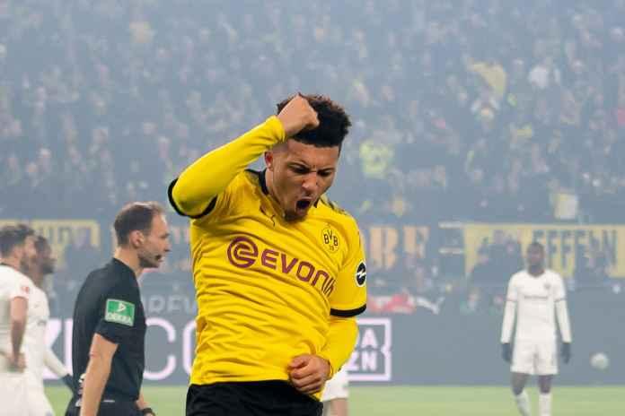 Jadon Sancho : Menang Atas Frankfurt, Modal Bagus Hadapi PSG!