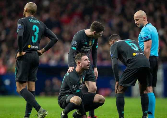 Jurgen Klopp Konfirmasi Kapten Liverpool Cedera Hamstring di Atletico